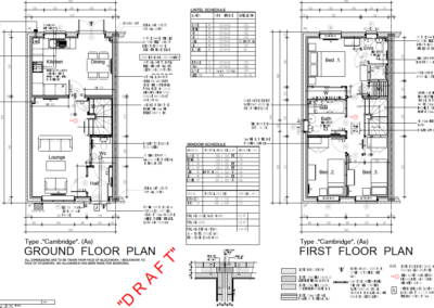 CAMBRIDGE FLOOR PLANS